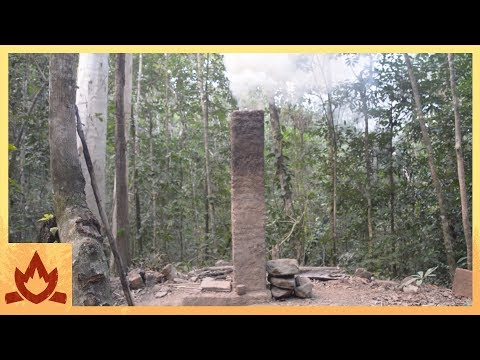 Primitive Technology: Pit and chimney furnace