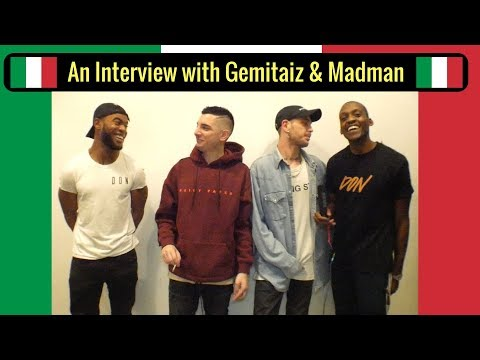 Gemitaiz & Madman Talk Italian Slang, European Tours and New Music
