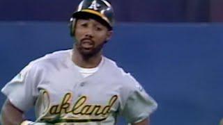 1992 ALCS Gm1: Baines hits go-ahead home run in 9th