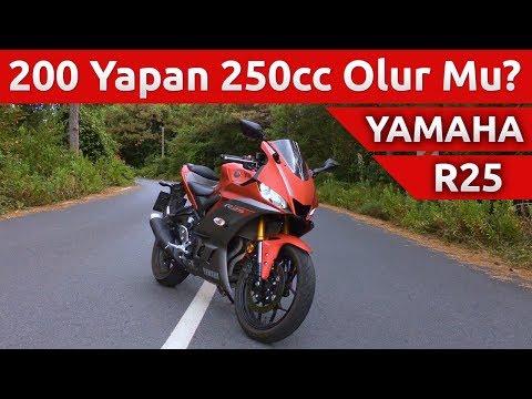 Yeni 2019 Yamaha R25 İncelemesi - 200 Yapıyor Mu?