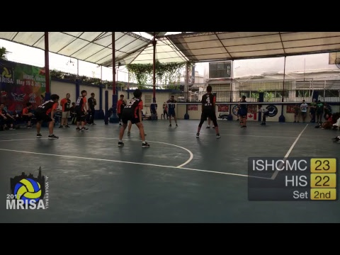 MRISA Junior Volleyball 2017 ISHCMC vs. HIS - G3 - 8:00am (Boys) Outdoor Court