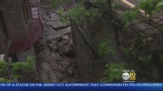 Wall Collapse Displaces Residents In The Bronx