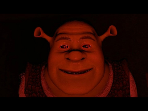 Shrek Intro but it's red and slowed down