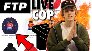 I SPENT $1000 ON THIS DROP! FTP Live Cop (Winter 2019)