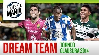 The Dream Team! - The top 11 players from Liga MX Torneo Clausura 2014