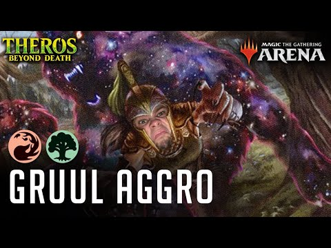 Gruul Aggro - Is Mantle Of The Wolf Actually Legit - MTGA