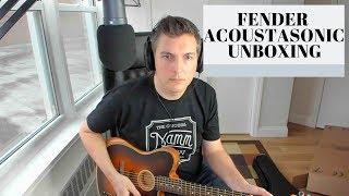 Fender Acoustasonic Telecaster - Unboxing