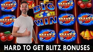 🔔 QUICK HIT BLITZ BONUS! 🍒 Hard to Get Bonus PAYS 💰 WINNING in Vegas with BCSlots