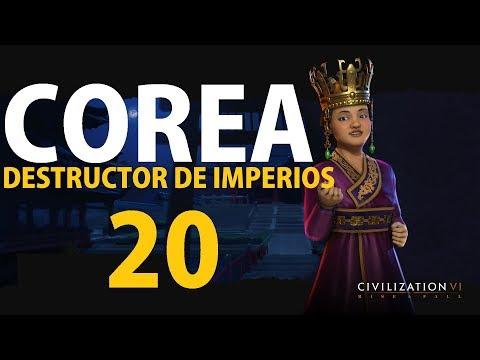 Civilization 6 - RISE AND FALL - COREA #20 JAPÓN YA NO ES IMPERIO  | gameplay español