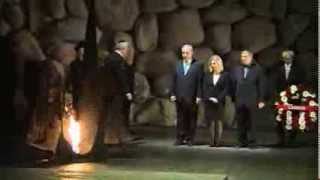 Repeat youtube video PM Netanyahu and Canadian PM Harper visiting Yad Vashem