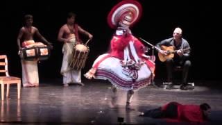 "Flamenco - Kathakali: ""La muerte de Dussasana"""