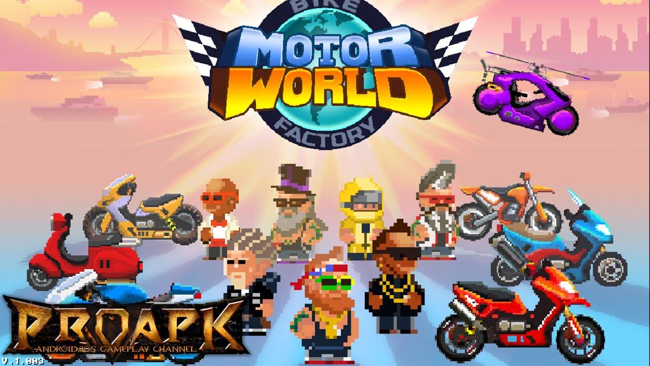Motor World Bike Factory Gameplay Ios Android Youtube