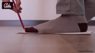 видео Определите размер ноги ребенка по возрасту, используя таблицу