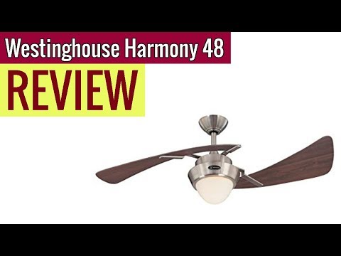 Westinghouse Lighting Harmony 48-Inch Ceiling Fan 2019 review