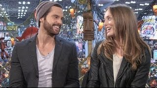 "CBR TV: Stars Tom Riley & Laura Haddock Explore ""Da Vinci"