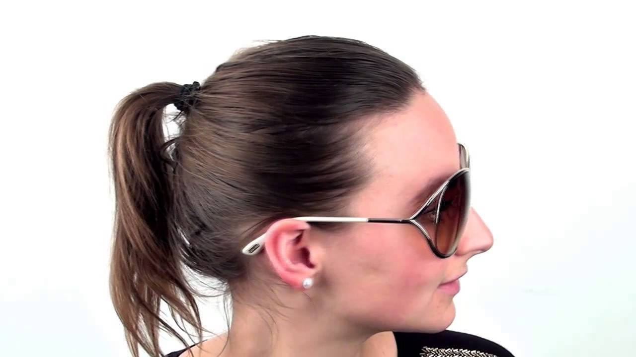 5597c4ca6c Tom Ford FT0130 MIRANDA 28F Sunglasses - VisionDirect Reviews - YouTube