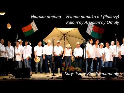 Hiaraka aminao - Veloma namako o ! (Railovy)  Kaloin'ny Angolan'Ny Omaly