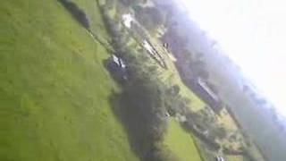 On board video RC aircraft at Ramsey Farm Ipswich Suffolk