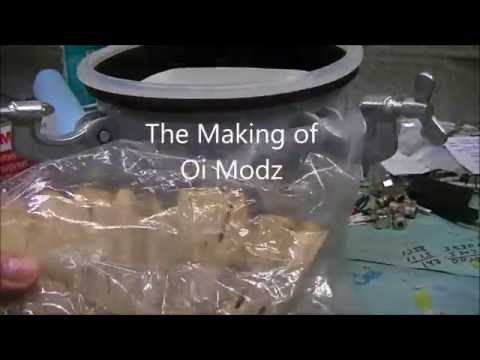Oi Modz Stabilized Wood How its Made High End Mod Dual Batts Yihi sx350j-v2 Hybrid