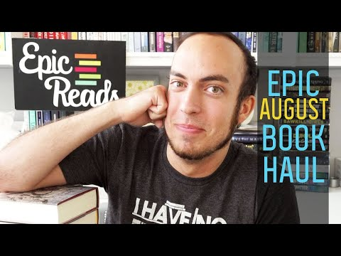 August 2019 Epic Book Haul | Sea Witch Rising, Hello Girls & More! | Epic Reads
