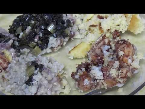Real Meals, vacuum sealer & jar sealer, Barbeque chicken, kale, brown rice, red beans, cornbread