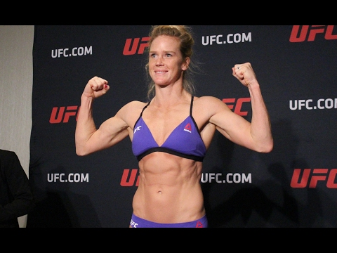 Event Weigh Shows Sexy Side At Ufc Her 208 Holly Holm In Main Pnw0OX8kN