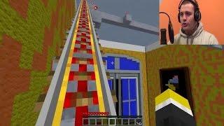 Minecraft Roller Coaster prolazi kroz ogromnu prelepu kucu!!! [Srpski Gameplay] ☆ SerbianGamesBL ☆