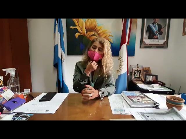 Verónica Diedrich habla luego de los disturbios en la comuna