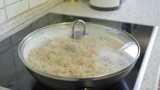 How to cook plain rice Polao [bangla] - Bengali Food