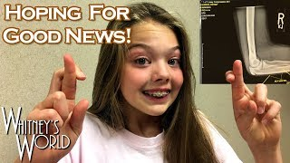 Can I Use My Arms Yet?! | Elbow Surgery Follow-Up | Whitney Bjerken Gymnastics