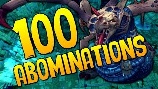 Runescape - Loot From 100 Abominations