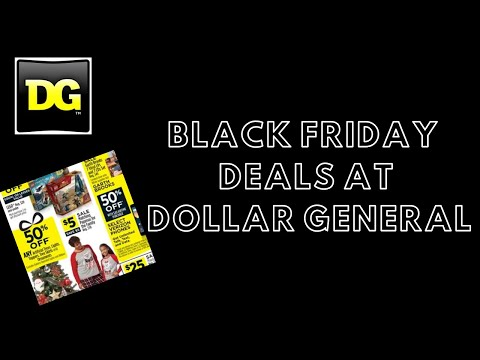 Dollar General Black Friday Deals 2019