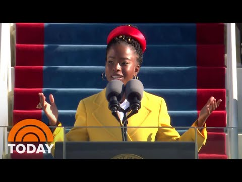 Amanda Gorman Makes Big Impact As Youngest Inaugural Poet In US History | TODAY