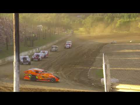 Crate Modified Heat Race 6/16/18, Woodhull Raceway, NY