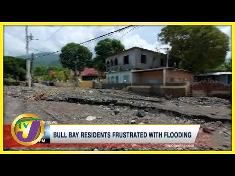 Tropical Storm Grace | Bull Bay Residents Frustrated with Flooding | TVJ News - August 18 2021