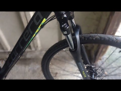 Carrera crossfire 2017 hybrid bike review