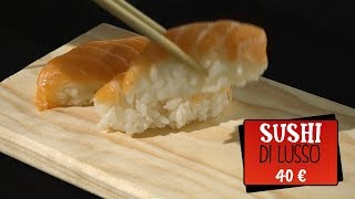 SUSHI DI LUSSO VS SUSHI ALL YOU CAN EAT | Cos