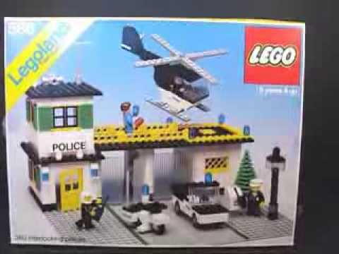 Vintage 1978 LEGO Classic Town 588 Police Headquarters