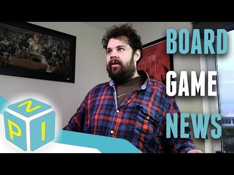 NPI Board Game News - 18/01/2018