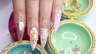 uñas elegantes uñas acrílicas