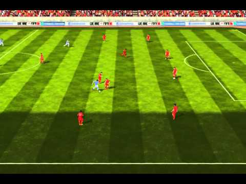FIFA 14 iPhone/iPad - Liverpool vs. Manchester City