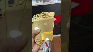 Gold 24K iPhone 12 Pro Max Housing