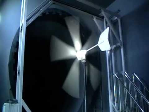 HY-1000W wind turbine noise testing in wind tunnel - HY Energy