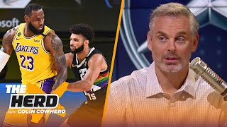 The gap between LeBron & the rest is absurd in GM 4, talks Cowboys VS Seahawks — Colin | THE HERD