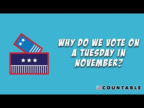 Election Day: Why Do We Vote on a Tuesday in November?