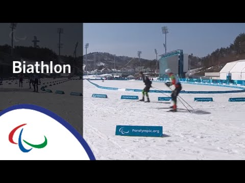 Middle distance standing and vision impaired |Biathlon | PyeongChang2018 Paralympic Winter Games