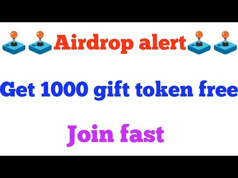 New Airdrop || Get 1000 gift token free || join fast to earn more by referring