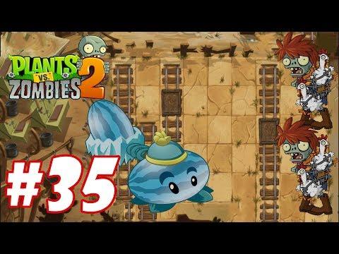Plants Vs Zombies 2 - Hoa quả nổi giận 2 : Winter Melon vs Chicken Wrangler Zombie #35