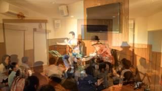2012年 種子島 旅館美春荘 にて DA BUDSお座敷ライブでの 書下ろし「(^^...