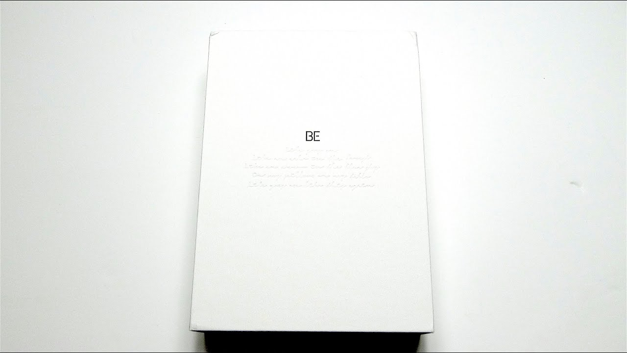 Download [ASMR] Unboxing BTS 방탄소년단 5th Korean Studio Album BE (Deluxe Edition)